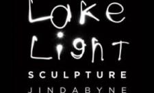 Lake Light Sculpture   Jindabyne